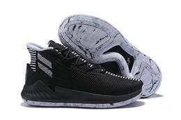74c90c36cdc Basketball Shoes Men Derrick Rose Australia - New D Rose 9 White Gold Men s  Basketball Shoes