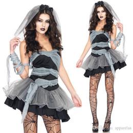 $enCountryForm.capitalKeyWord Australia - European And American Womens Game Uniform Halloween Devil Vampire Zombie Ghost Bride Dress Role Play Costumes Theme Costume