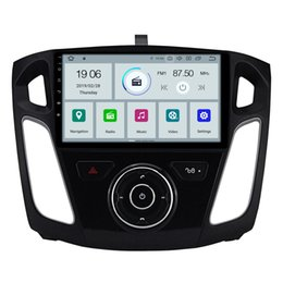 "Ford Focus Player Australia - COIKA 10.1""Android 9.0 System Car DVD Auto Radio For Ford Focus 3 2012-2016 GPS Navi Touch Screen WIFI 4G RDS OBD 2+16G RAM BT SWC"