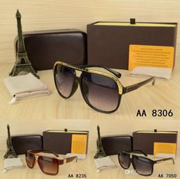6607afe1aa93c Hot Top Marca Designer de óculos Ao Ar Livre melhor óculos de sol dos  homens da mulher com caixa de óculos de senhora UV400 gafas Feminino oculos  De Sol ...