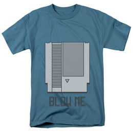 $enCountryForm.capitalKeyWord UK - BLOW ME Game Cartridge Adult T-Shirt All Sizes Men Women Unisex Fashion tshirt Free Shipping