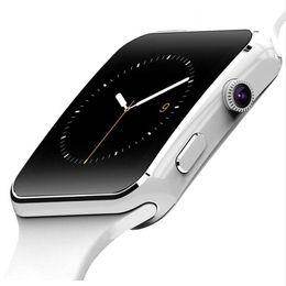 Smart Watch Fitness Tracker Call Function Australia - New X6 Bluetooth Smart Watch Passometer Fitness Tracker Multi function SmartWatch Kids Gift Man Women Sports Wrist Watch