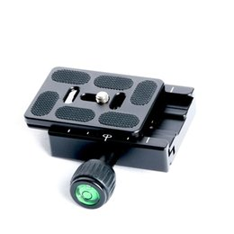 Tripod for dslr camera online shopping - QR60 DSLR camera tripod Quick Release plate Clamp mount adapter for DSLR Triopod Camera Ball head Accessories