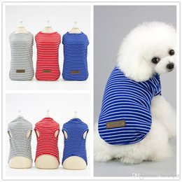 $enCountryForm.capitalKeyWord Australia - F130 pet dog summer vest puppy cotton vest cool thin summer T-shirt small pets summer clothes