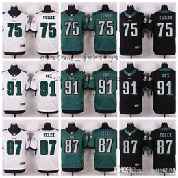 6f68d079f Philadelphia Eagles  91 Fletcher Cox 87 Brent Celek 86 Zach Ertz 82 Rueben  Randle 81 Matthews 75 Vinny Curry Elite Football Jerseys