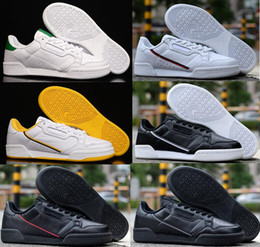 Wholesale 80 lower for sale – custom Suede Continental Men Low Casual gazelle Trainer Black Red white green Lightweight Breathable Walking Hiking Shoes