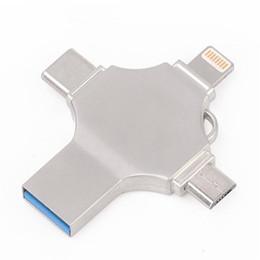 NOUVEAU Ingelon Usb Flash 16 Go 32 Go 64 Go 128 Go Pendrive USB-C Type C Crypté LOGO bricolage micro USB otg Memory Stick pour iphone ios