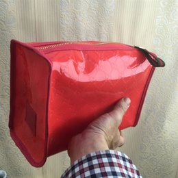 Cosmetic Bags Locks Australia - Pvc large capacity wholesale zip lock travel pu bag beauty pu cosmetic bag with the best design