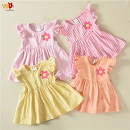 $enCountryForm.capitalKeyWord Australia - good quality Girls Summer Dress Comfortable Cotton Fabric Baby Toddlers Outwear Children's Clothing Clothes 12 Colors