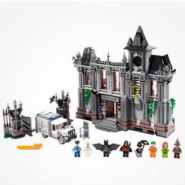 Batman Blocks Australia - Legoing Marvel & DC Super Heroes Joker Arkham Asylum Breakout Set Legoing Batman Movies Building Blocks Toys