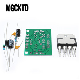 amplifier board kit Australia - Freeshipping 10pcs TDA7297 amplifier board spare parts dc 12v grade 2.0 dual audio encoding 15w electronic diy kit