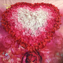$enCountryForm.capitalKeyWord NZ - New Free Shipping Wholesale Decorations Romantic Atificial Flowers Polyester Wedding Rose Petals Patal C19041701