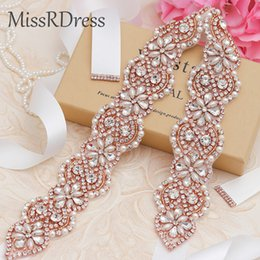pearl stores NZ - New European handmade rhinestone bridal rhinestone belt   hot sale woven pearl rhinestone wedding belt  into the store to choose more styles
