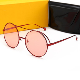 17aa59c48e4 Luxury Designer Sunglasses For Men Woman Sun glasses Vintage Metal  Hexagonal Frame Reflective Coating Eyewear with cases and box