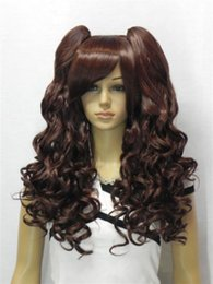 $enCountryForm.capitalKeyWord NZ - Wholesale price Hot Sell! TSC^^^^ NEW WOMEN'S dark brown long curly WIG + wigs pigtail
