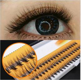 Individual False Eyelashes 14mm Australia - 8 10 12 14mm Natural Soft False Eyelash Extension Lashes Volume Flase Eyelashes Fans 20d Eyelashes