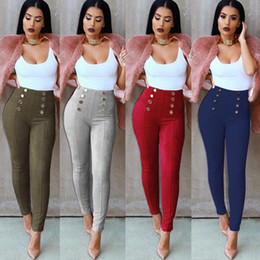 yellow leggings Canada - Women Lady Trousers Pants Sexy Leggings Body Shaper Soft Elastic Force Stripe