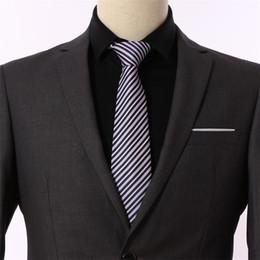 Dark Blue Suits Australia - Classic Silk Men Tie Plaid Neck Ties 8cm Green Blue Neckties for Men Formal Wear Business Suit Wedding Party