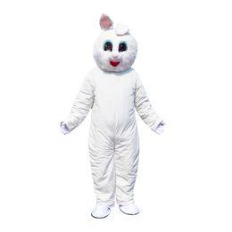 Rabbit Suits Australia - New Arrival Professional Easter Bunny Mascot Costume Rabbit Hare Adult Fancy Dress Cartoon Suit