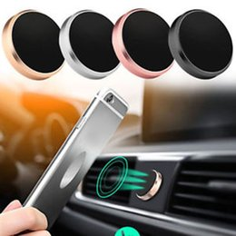 $enCountryForm.capitalKeyWord NZ - Magnetic Stand Iphone X Xs Max Samsung S9 Magnet Air Vent Mount Gps Holder For Cell Mobile Phone In Car