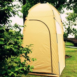 toilet room tent Canada - Outdoor Camping Bath Changing Rest Room Tent Watching Bird Shooting Hunt Photo Taking Moving Toilet Beach Shower Dressing Tent