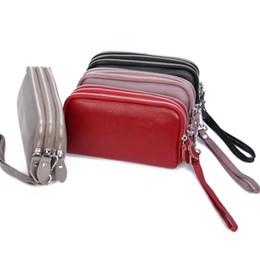 $enCountryForm.capitalKeyWord UK - 2019 Women wallet Standard Wallets Wallets Soft cowhide Women billfold Zero purse Small Wallets Card bag Wholesale Long Genuine leather DT2