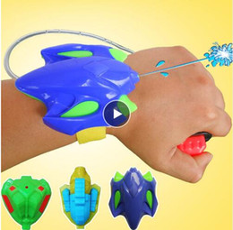 $enCountryForm.capitalKeyWord Australia - Fashion Children Favorite Summer Beach Outdoor Shooter Toy Educational Water Fight Pistol Swimming Wrist Water Guns boy gift