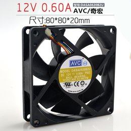 $enCountryForm.capitalKeyWord Australia - AVC 8020 12V 0.60A DASA0820B2U 8CM 8cm 4-wire CPU chassis fan
