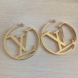 Toptan satış Kadınlar Partisi Hediyeler toptan fiyat için 2020 Trendy Stil Takı Üst Kalite Paslanmaz Çelik Gül Gümüş Altın Kaplama Stud küpe