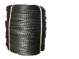 atv synthetic winch rope Australia - 4mmx100M Black Synthetic Winch Rope String Line 12 strand off-road UHMWPE Cable Towing Rope With Sleeve for ATV UTV SUV 4X4 4WD
