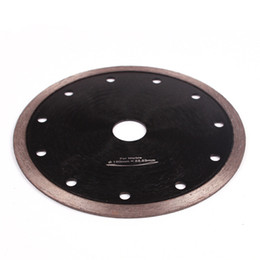 diamond cutting blades NZ - D105-230mm Hot Pressed Sintered Continuous Rim Diamond Saw Blades Super Thin Diamond Cutting Disc for Granite Marble Ceramic Porcelain