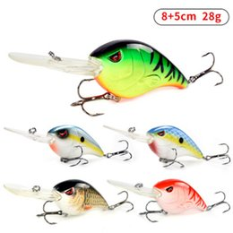 Game fishinG lures hooks online shopping - 30g Hard VIB Lures cm Fishing Bait Treble Hooks Sinking Crankbait Fishing Tackle Lifelike Fishing Lure LJJZ532