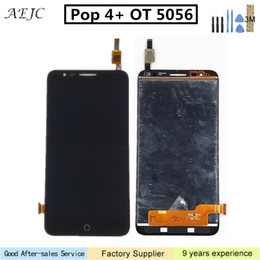 pop panels NZ - 5.5 inch For Alcatel Pop 4 Pop4 Plus OT5056 5056A 5056D 5056E 5056T LCD Display Touch Screen Digitizer Assembly Repair Parts