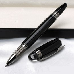 Discount quality writing pens - Promotion - High quality Monte pen Star-waiker Black Resin Rollerball pen Ballpoint pen Fountain pens stationery office