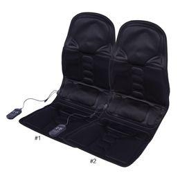 $enCountryForm.capitalKeyWord UK - Electric Massage Chair Car Home Office Full Body Relax Back Neck Lumbar Pad Seat Heat Vibrating Mattress Shiatsu Therapy Bed Pad