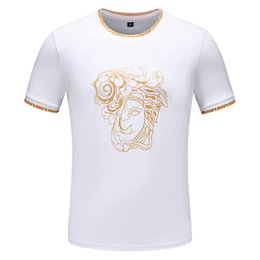 Flexible Products Australia - fashion popular logo small round collar T-shirt. High quality cotton products, flexible workmanship. The latest printing technology. 971