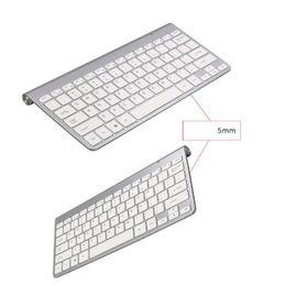 keyboard for apple tv 2019 - 2019 NEW Wireless Keyboard Mouse Combo 2.4G Keyboard Ultra-Thin Wireless Mouse for Apple Keyboard Style Mac Win 7 8 10 T