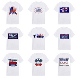 diy clothes tags NZ - Summer 19Ss Designers hirt Tag Clothing Men Fabric Letter Trump T-Shirt Collar Casual Women Tshirt Tee Shirt Tops #296
