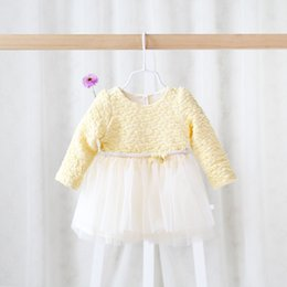 Beautiful Infants Australia - Spring 2016 children's wear dress of baby girls clothes for newborn infant gauze bow sweet and beautiful princess dress