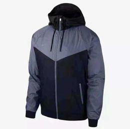 Discount mens clubbing clothes - Mens Jackets 2019 Spring Clothes Hot Sale Colorblock Jacket Casual Zipper Windbreaker Club Sports Football Hoodie.05