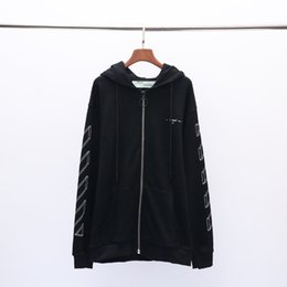653c3653bbf2 selling hoodie men OFF luxury WHITE hoodies US tide brand couple pullover  Behind the arrow print sweatshirt Classic letter mens sweatshirts