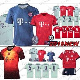 promoción Bayern Munich Jersey ROBBEN LEWANDOWSKI 25 MULLER VIDAL ALABA  RIBERY Kimmich 5 HUMMELS Camisetas de fútbol hombres mujeres jóvenes 8bdbe99837825