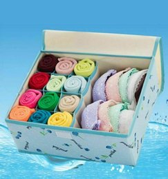 Sock hookS online shopping - Hot Closet Organizer Box for Underwear Bra Socks Ties Scarves Storage Drawer Divider Oxford Hook Loop Casual Case