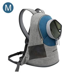 $enCountryForm.capitalKeyWord Australia - Pet Backpack Carrier Breathable Rucksack Cat And Dog Travel Shopping Bag Going Out To Carry A Pet Adjustable Shoulder Strap