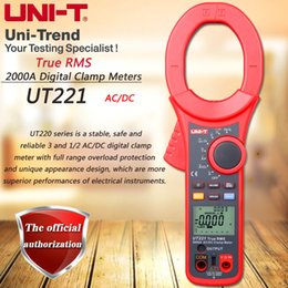 $enCountryForm.capitalKeyWord Australia - UNI-T UT221 AC DC 2000A Digital Clamp Meter True RMS ammeter Resistor   Frequency   Diode Test Low Pass Filter Inrush Current