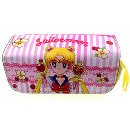 Discount card sakura - new arrival 2018 Sailor Moon card captor sakura school pencil case My Neighbor Totoro fairy tail makeup bag anime pencil