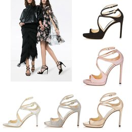 Lace up styLe sandaLs online shopping - Women Designer Sandals summer So Kate Styles Fashion Luxury girl high heels CM CM LANCE black pink white Silver Leather Point size