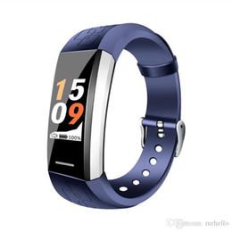 Camera V1 Australia - V1 Smart Bracelet Step Smart Band Watch Color Screen Wristband Heart Rate Activity Fitness tracker Smart Electronics Bracelet
