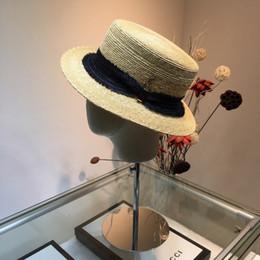 $enCountryForm.capitalKeyWord Australia - y 2019 new women's new straw hat, flat top hat, casual fan, beach essential women hats