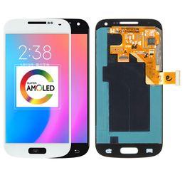 $enCountryForm.capitalKeyWord NZ - For Samsung Galaxy S4 Mini i9195 i9190 i9192 LCD Display Touch Screen Digitizer Bezel Frame Full Assembly